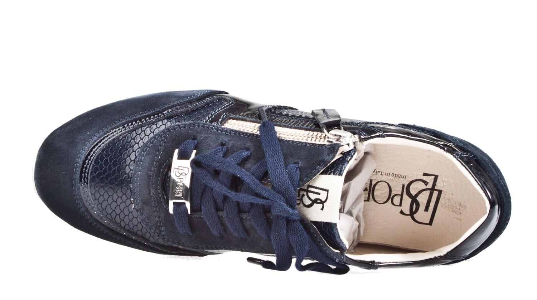 DL Sport 3429 blau Sneaker