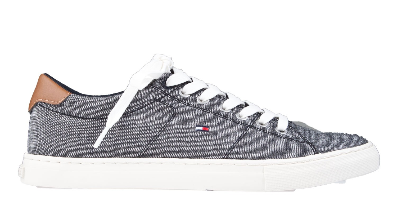 d2c69ecb9044c Tommy Hilfiger Seasonal Textile zwart sneaker