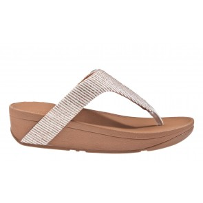 Fitflop Lottie Glitter Stripe Toe-Thongs