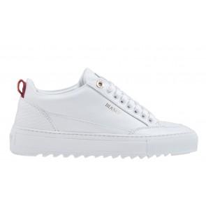 Mason Garments Tia 18A weiß Leder/Pitone weiß combi Sneaker