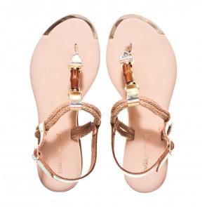Miss Unique S26 V wit sandaal