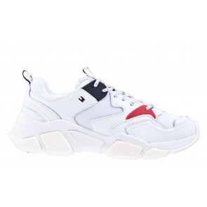 Tommy Hilfiger Chunky Mixed Textile Trainer