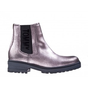 Tommy Hilfiger Metallic Cleated Chelsea