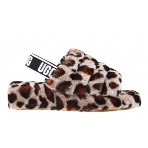 UGG Fluff Yeah Slide Leopard