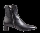 AGL D 146505 schwarz Leder Stiefelette
