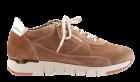 DL-Sport 6021 cognac Veloursleder Sneaker.