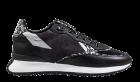 Floris van Bommel 85349/01 black Veloursleder Sneaker