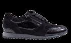 Hassia 2-30-1916 schwarzVelourslederSneaker.