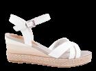 Tommy Hilfiger Gradient Mid Wedge Sandal weiß Sandale