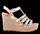 UGG Cressida gold metallic Sandale