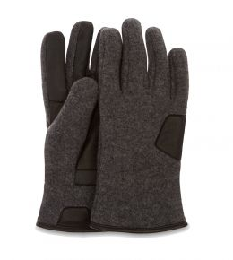 UGG Fabric and Leather Glove