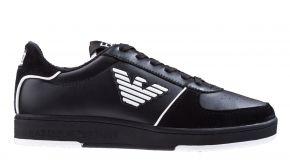 Armani X8X073 schwarz weiß Sneaker