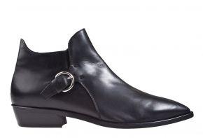 AGL D 530543 schwarz soft Leder Stiefellette