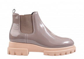 AGL D 756402 taupe Chelsea Stiefelette
