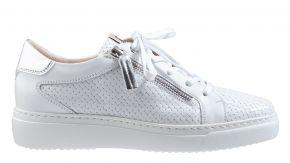 DL-Sport 5004 weiß Leder Schnürschuhe