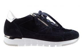 DL-Sport 5026 blau Veloursleder Sneaker