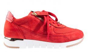 DL-Sport 5029 rotVelourslederSneaker.