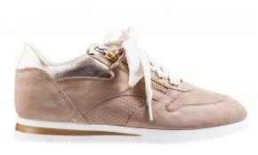DL-Sport 5068 beige Veloursleder Sneaker