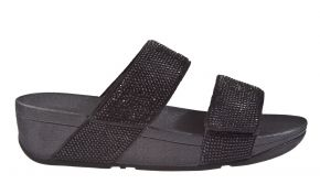 Fitflop Mina Crystal Slides Microfibre