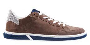 Floris van Bommel 13350/17 G1/2 taupe Veloursleder Sneaker