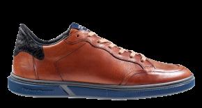 Floris van Bommel 13350/24G1/2 cognac KalfslederSneaker.