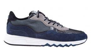 Floris van Bommel 16093/22 G1/2 navy suède combi Sneaker