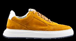 Floris van Bommel 16323/03 G1/2 yellowVeloursleder Sneaker.