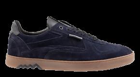 Floris van Bommel 16342/41 G1/2 blue VelourslederSneaker.