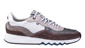 Floris van Bommel 16392/01 G1/2 Light greyVelourslederSneaker.