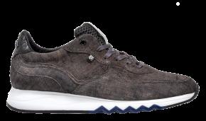 Floris van Bommel 16392/09 G1/2 Grey Veloursleder Sneaker