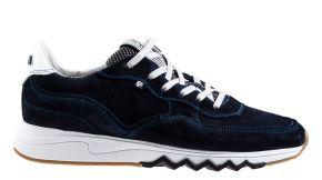 Floris van Bommel 16397/00 G1/2 blue velourslederSneaker.