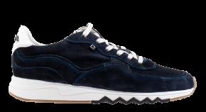 Floris van Bommel 16397/00 G1/2 Dark Blue Veloursleder Sneaker
