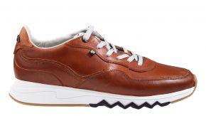 Floris van Bommel 16397/02G1/2 cognac Kalfsleder Sneaker.