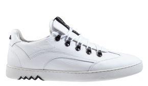 Floris van Bommel 16464/14G1/2 weiß grainlederSneaker.