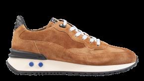 Floris van Bommel 16484/03 G1/2 Sand beigeVeloursleder Sneaker.