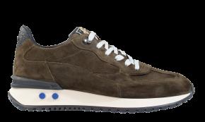 Floris van Bommel 16484/04 G1/2 Green Veloursleder Sneaker