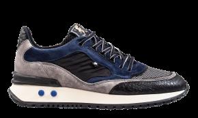 Floris van Bommel 16488/01 G1/2 NavyVeloursleder Sneaker.