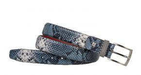Floris van Bommel 75188/86 Blue snake Gürtel