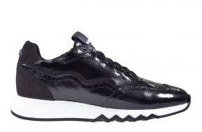 Flors van Bommel 85287/04 schwarz Lackleder Sneaker