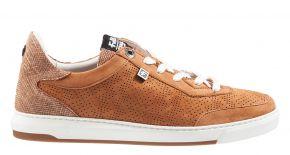 Floris van Bommel 85341/03 cognac nabuk Sneaker