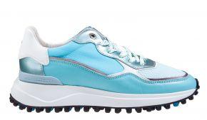 Floris van Bommel 85343/00 Blu Nappa Sneaker