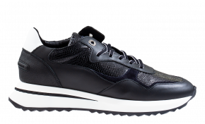 Floris van Bommel 85351/00 black snake Sneaker