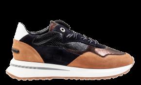 Floris van Bommel 85351/04copperprintmetalSneaker.