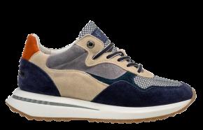 Floris van Bommel 85351/08 bluecombiSneaker