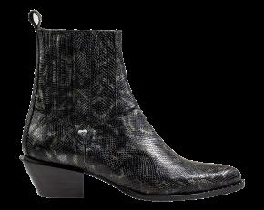 Floris van Bommel 85671/03 green snakeChelsea Boot