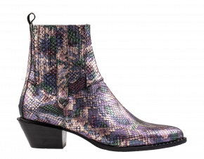 Floris van Bommel 85671/06multi print metalChelsea Boot.