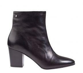 Floris van Bommel 85727/00 Black calf Stiefelette