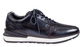 Greve Podium blau Kalbsleder Sneaker