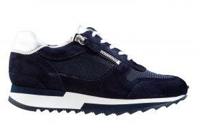 Hassia 1-30-1813 K blau Veloursleder Sneaker
