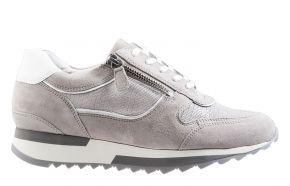 Hassia 1-30-1813 K lichtgrau VelourslederSneaker.
